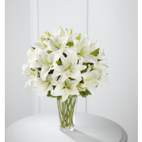 The Spirited Grace™ Lily Bouquet by FTD® - VASE INCLUDED